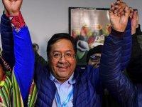 Bolivya seçimlerinde zafer Evo Morales'in halefi Luis Arce'nin oldu
