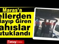 Maraş'a Tellerden Atlayıp Giren Şahıslar Tutuklandı