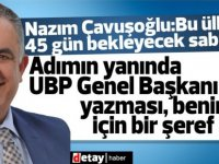 """Nazım Çavuşoğlu:""""Bu ülkenin 45 gün bekleyecek sabrı yok"""""""