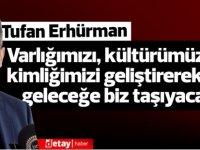 Erhürman:Sayın Akıncı'ya hizmetlerinden dolayı teşekkür eder, Sayın Tatar'a yeni görevinde başarılar dilerim.