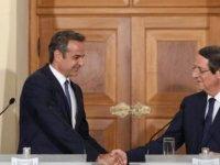 """Anastasiadis ve Mitsotakis: """"Ersin Tatar, bugüne kadar ortaya koyduğu tezlerle müzakere masasına gelmemeli"""""""