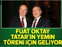 TC Cumhurbaşkanı Yardımcısı Oktay, Tatar'ın yemin Töreni için yarın KKTC'ye geliyor