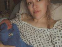 9 aylık hamile kadın doğum yaptığını hastanede öğrendi