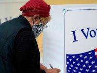 ABD'de başkanlık seçimleri için şu ana kadar 50 milyona yakın oy kullanıldı