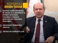Tatar: Müzakere sürecinde artık alternatif çözüm modelleri masaya getirilmeli