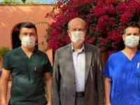 Cumhurbaşkanı Tatar, Ankara ziyareti öncesinde PCR testi yaptırdı