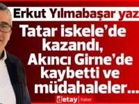 Tatar İskele'de kazandı, Akıncı Girne'de kaybetti ve müdahaleler...
