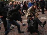 New York'ta Trump destekçileriyle karşıtları arasında arbede