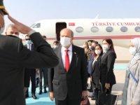 Cumhurbaşkanı Ersin Tatar, Anıtkabir'i ziyaret etti