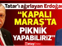 "Erdoğan:""Kapalı Maraş'ta piknik yapabiliriz"""