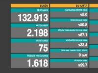 Türkiye'de Koronavirüs: 75 kişi daha hayatını kaybetti, 2198 yeni 'hasta' tespit edildi