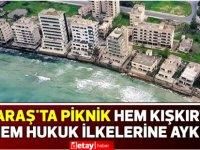 Kusios: Maraş'ta piknik hem kışkırtıcı hem hukuk ilkelerine aykırı