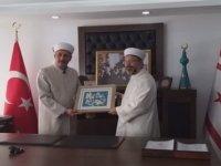 TC Diyanet İşleri Başkanı Ali Erbaş, Din İşleri Başkan Vekili Fahrettin Öğdü'yü ziyaret etti