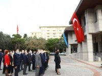 Azerbaycan'da 29 Ekim Cumhuriyet Bayramı Kutlandı