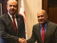 Cumhurbaşkanı Tatar, KKTC Budapeşte Temsilcisi Ezel'i kabul etti