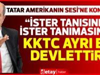 """Tatar:""""Maraş'ın tümüyle açılması yakında gündeme gelecektir"""""""