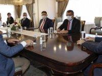 Cumhurbaşkanı Tatar, siyasi parti başkan ve temsilcileri ile görüştü