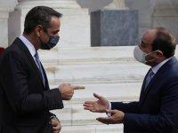 Sisi'den Atina'da Yunanistan'a destek mesajı: Hep yanınızda olacağız