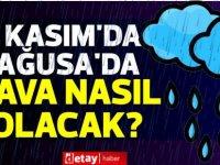15 Kasım'da Mağusa'da yağmur var