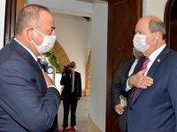 """Cumhurbaşkanlığı'nda """"Kıbrıs Konusunda İzlenecek Strateji"""" değerlendirilmesi yapıldı"""