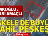 """Sadıkoğlu """"İskele'deki sahil peşkeşi"""" haberlerinin siyasi amaçlı olduğunu iddia etti!"""