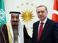 Cumhurbaşkanı Erdoğan, Suudi Arabistan Kralı Selman İle Görüştü