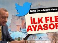 Başkan Erdoğan'dan İlk Twitter Fleets Paylaşımı