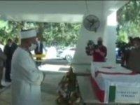 Mücahitler Derneği Eski Başkanı Vural Türkmen son yolculuğuna uğurlandı