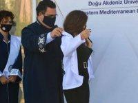 DAÜ Diş Hekimliği Fakültesi beyaz önlük giyme töreni gerçekleştirdi