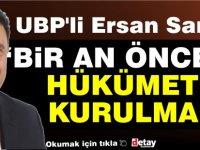 """Saner:""""UBP büyük projelerin partisidir"""""""