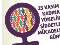 25 Kasım Kadına Yönelik Şiddete Karşı Uluslararası Mücadele Günü
