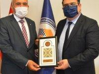 İTÜ KKTC Rektörü Prof. Dr. Cumali Kınacı'dan, Aykut Hocanın'a Ziyaret