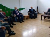 Zorlu Töre Kıbrıs Türk Mukavemet Teşkilatı Mücahitler Derneğini ziyaret etti.