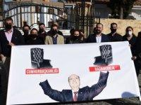 KTAMS Cumhurbaşkanlığı Önünde Protesto Eylemi Düzenledi