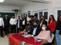 CTP Gençlik Örgütü Mağusa İlçe Başkanlığı'na Hasan Can Sermet getirildi
