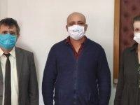 Kuzey Kibris Satranç Federasyonu'nun Atatürk Öğretmen Akademisi'ni Ziyaret Etti