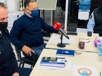 """Gazimağusa Belediye Başkanı İsmail Arter : """"Ekiplerimiz 24 saat çalışmaktadır"""""""