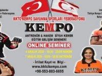 Kempo Antrenör Hakem Semineri Yapiliyor