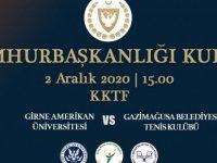 Teniste Cumhurbaşkanlığı Kupası gerçekleşiyor