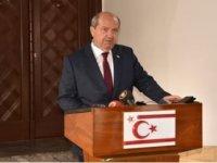 """Cumhurbaşkanı Tatar: """"Kıbrıs Türk tarafının 5+1 konferansına federasyonu görüşmeye gitmeyeceğini Lute'a ilettik"""""""