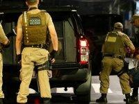 Brezilya sokaklarında La Casa De Papel: 30 hırsız banka soydu, paralar etrafa saçıldı