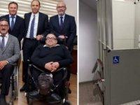 Özersay: Bakanlığımızdaki Engelli Asansörü Eksiğini Giderdik