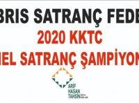 2020 KKTC Genel Satranç Şampiyonası Başlıyor