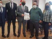 Kıbrıs Türk Taşımacılar Birliği , TC Büyükelçisi Ali Murat Başçeri`yi ziyaret etti