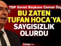 """Özyiğit:""""Erhürman'ın başbakan olmadığı model saygısızlık olurdu''"""