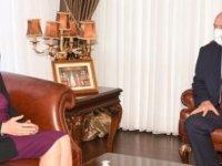 Cumhurbaşkanı Ersin Tatar, Elizabeth Spehar'ı Kabul Edecek.