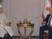 Cumhurbaşkanı Tatar, Din İşleri Başkanı Atalay'ı Kabul Etti