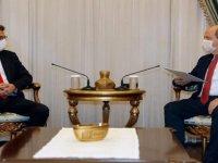 Ersin Tatar - Tufan Erhürman görüşmesi 15 dakika sürdü