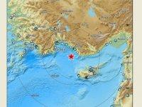 Konya'ya kadar hissedildi! İşte 5.5 lik depremin yeri