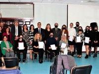 Türk İşaret Dili Modüler Eğitim Sertifikaları Takdim Edildi